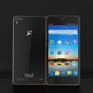 3d smartphone allview x2 soul model
