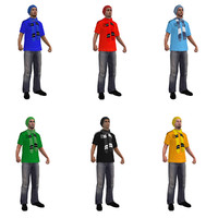 Soccer Crowd Animated Pack