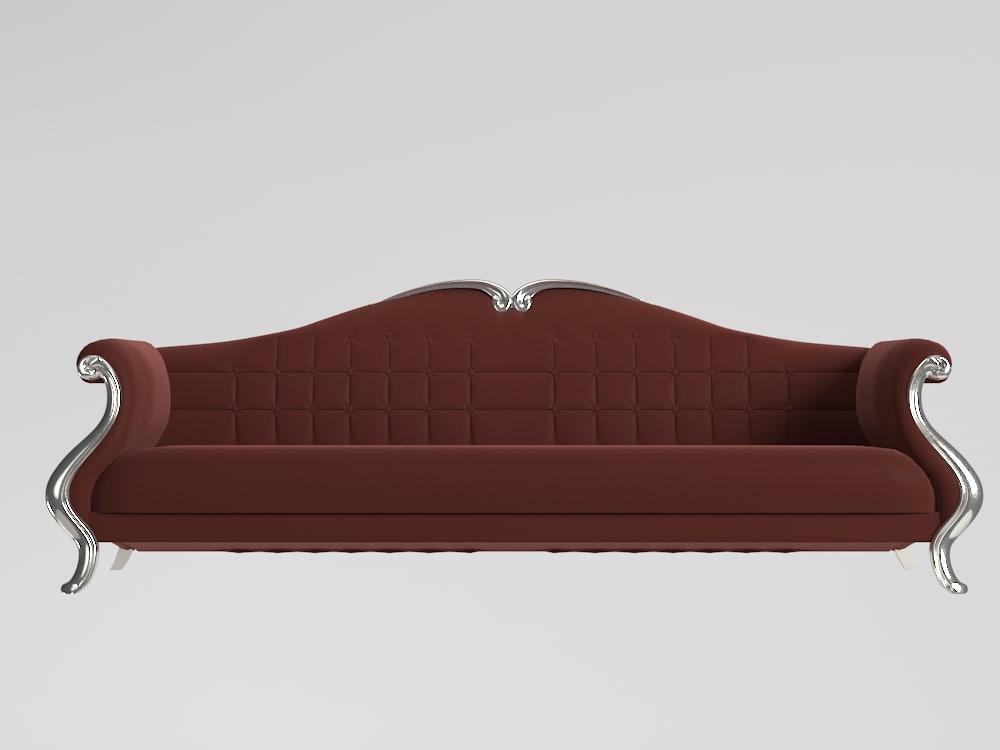 3d yayik classical sofa model