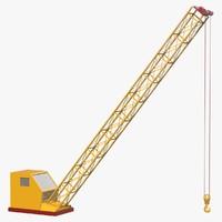 crane 3d c4d