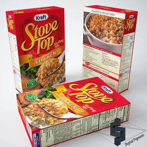 stove stuffing box obj