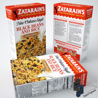 Zatarains Black Beans and Rice