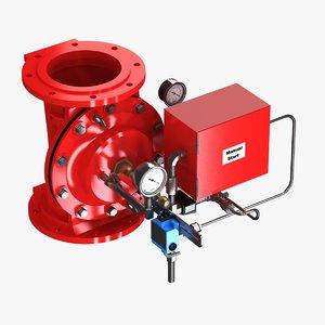 valve alarm 3ds