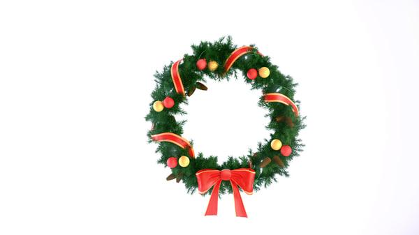 christmas wreath max