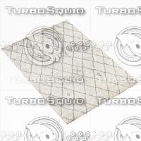3d restoration hardware rug model
