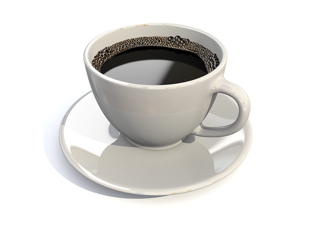 3ds max realistic coffee cup