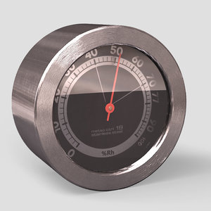 3d hygrometer rst meteo ctrl model