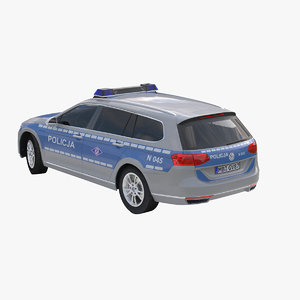 3d model b8 policja