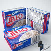 3ds max jell-o cookies creme