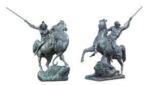 horse berlin 3d max