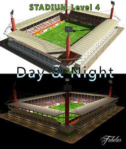 stadium level 4 max
