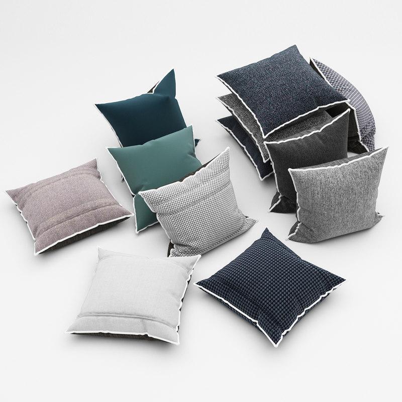 pillows 53 3d model