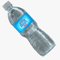 3ds max water bottle