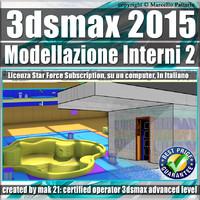 3ds max 2015 Modellazione Interni 2 Subscription