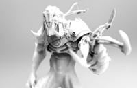 3d model print ready creature