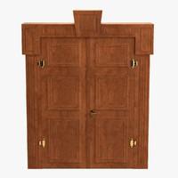 3d baroque door