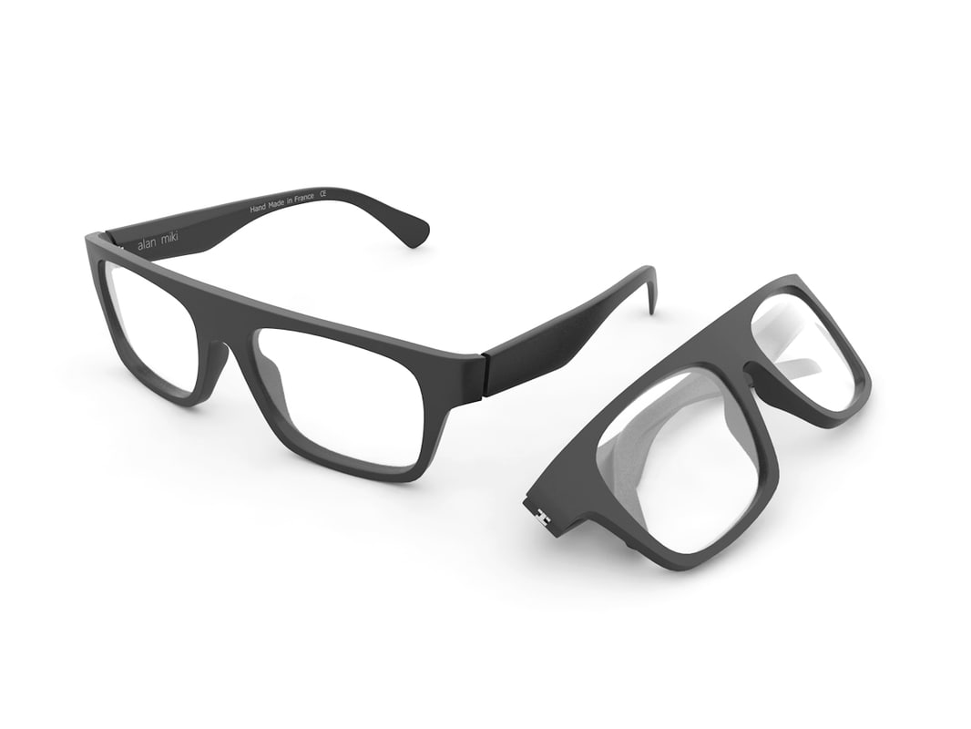3dsmax glasses eyeglasses rim