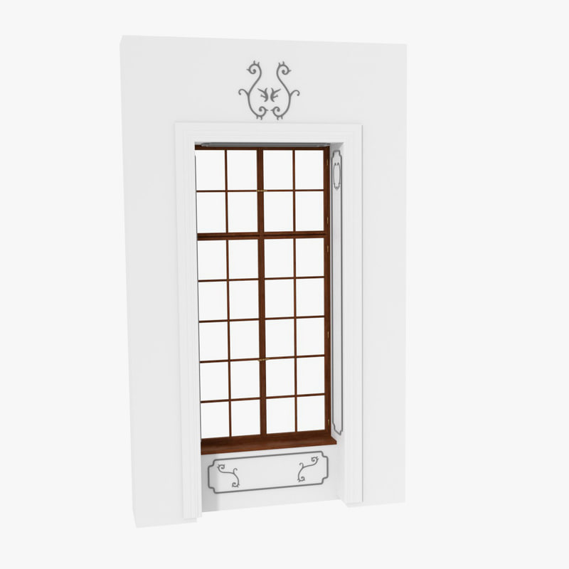 3ds antique window