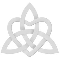 3d model of celtic heart