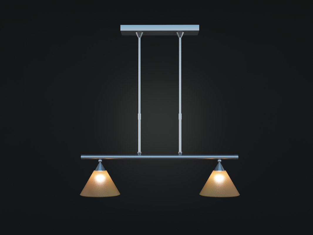 lamp steel 3d max