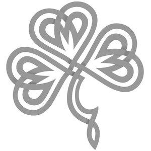 celtic shamrock 3d max