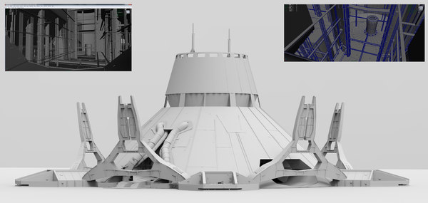 atmosphere processor 3d model