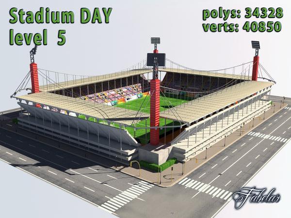 3d stadium level 5