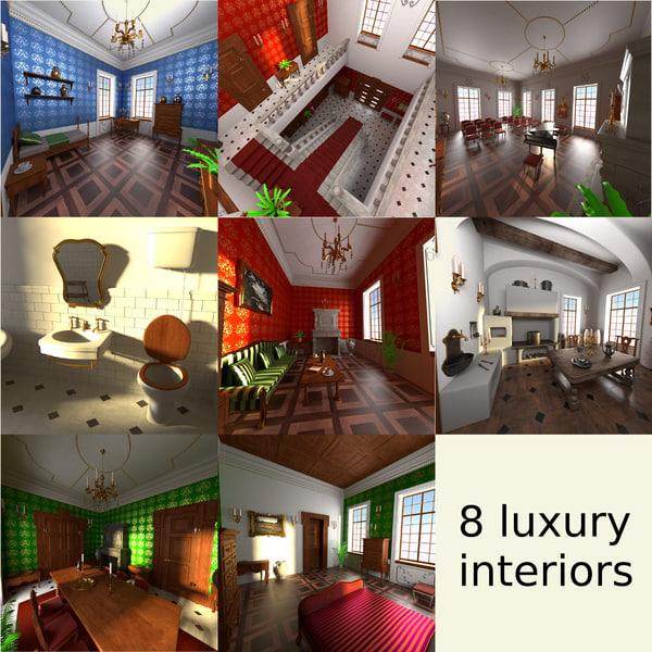 3ds max luxury manor