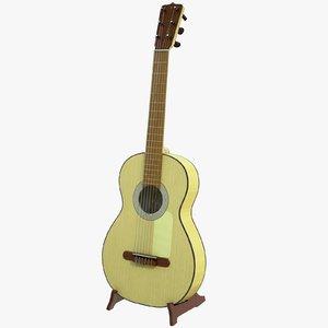 jose ramirez guitar 3d max
