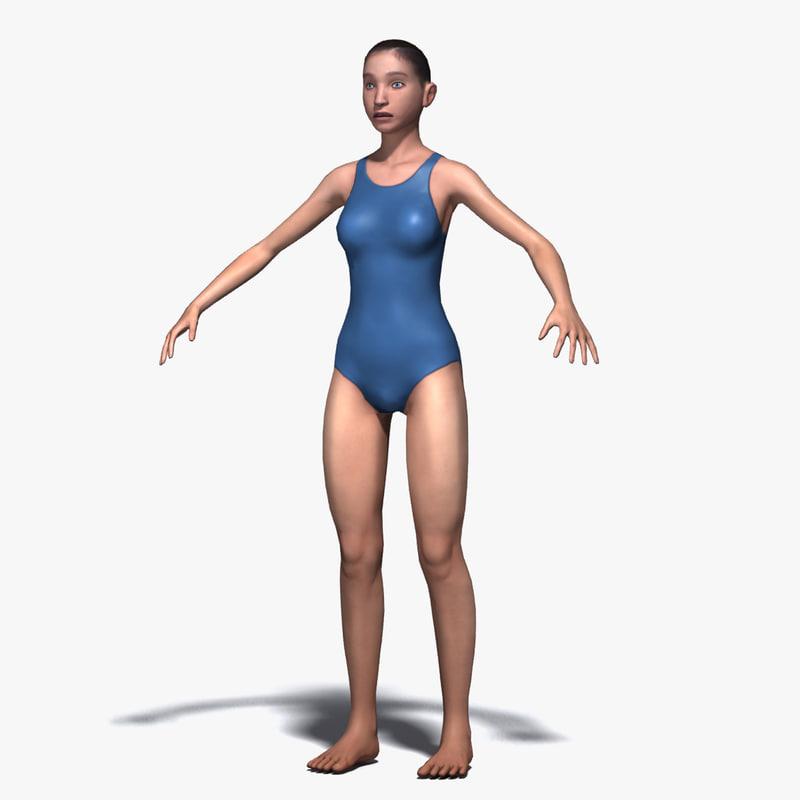 gymnastics 3d max