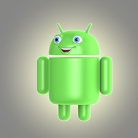 cartoon android 3d model