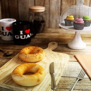 bagels 3d model