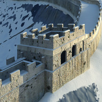 great wall 3d model