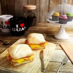 3ds max sandwich