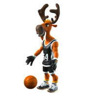 maya deer basketball