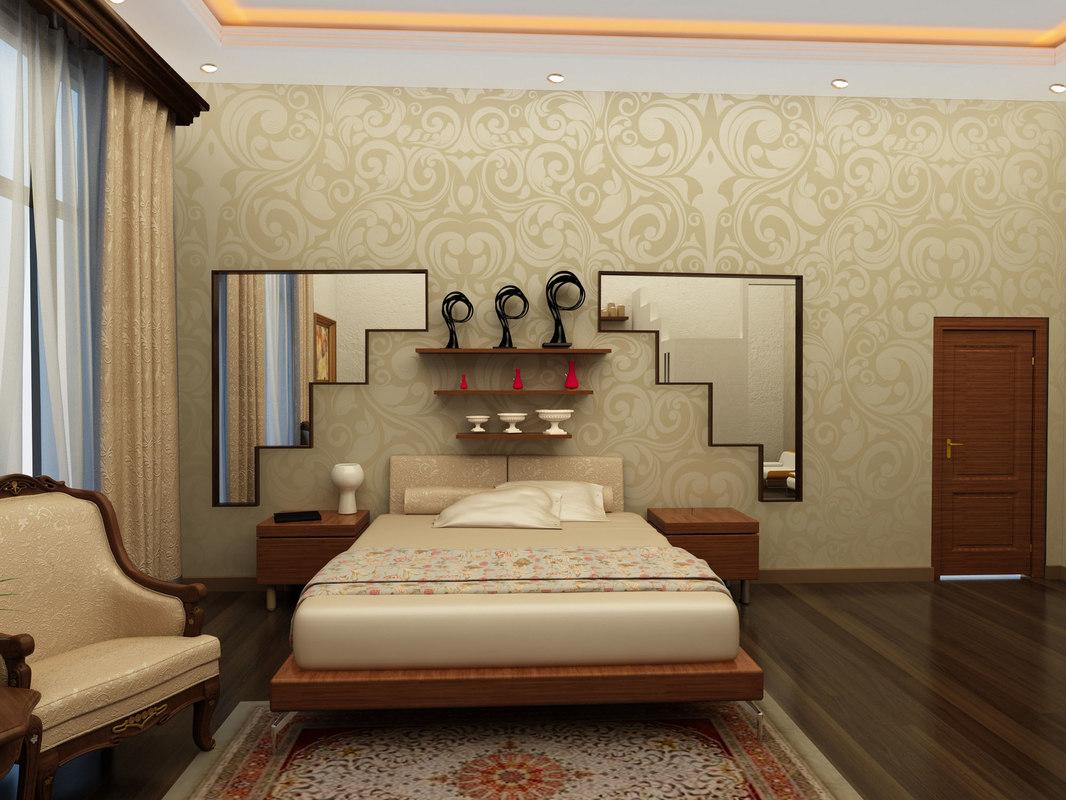 3d architecture interior