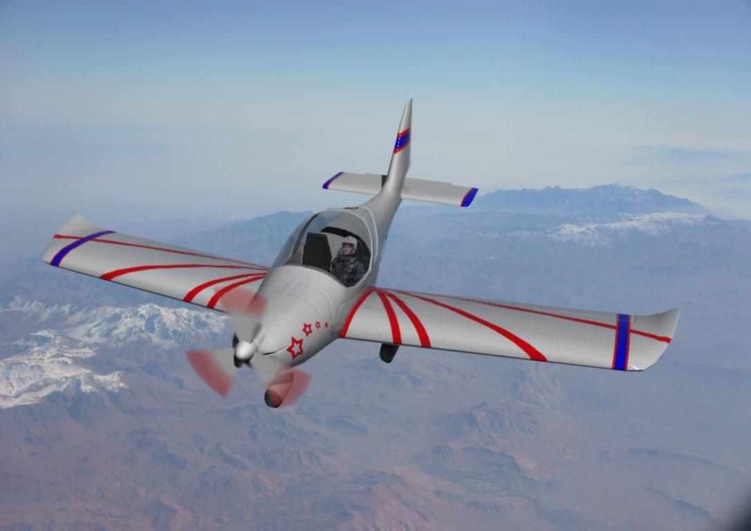 3d plane eurostar