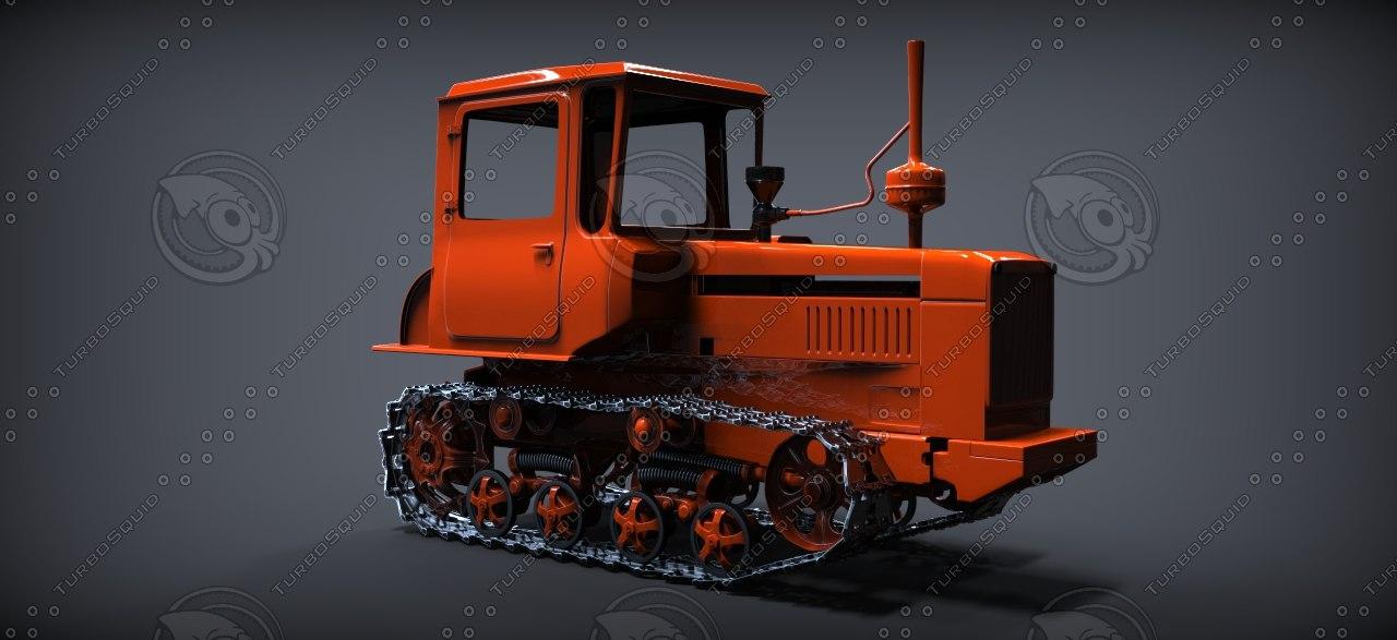 3d dt 75 model