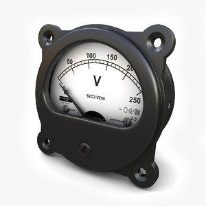 max dc voltmeter