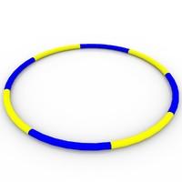3ds max hula hoop
