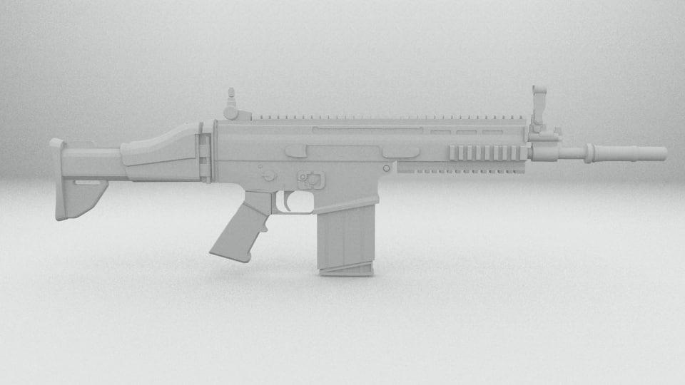 3d scar model