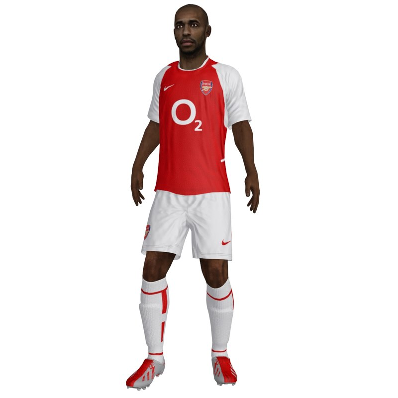 rigged thierry henry arsenal max
