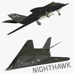 3d f117 nighthawk