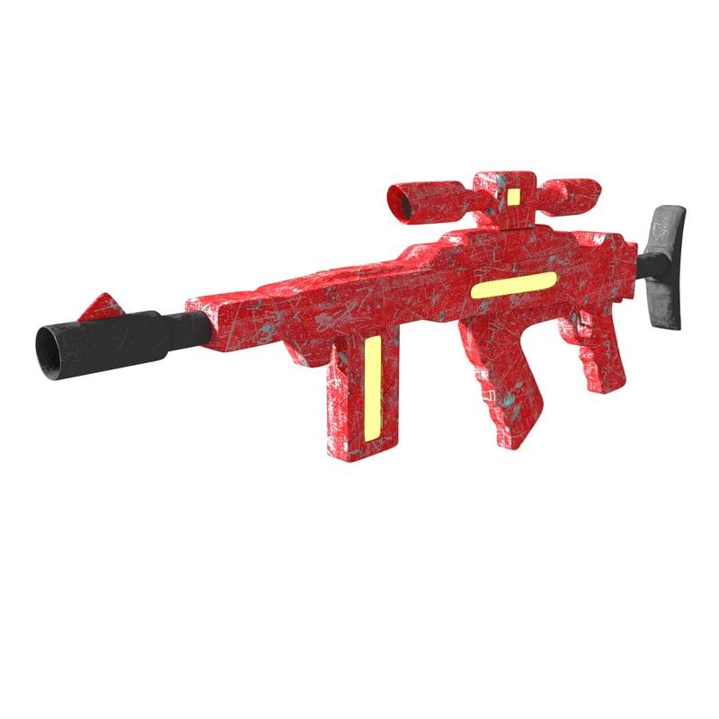 obj worn assault rifle