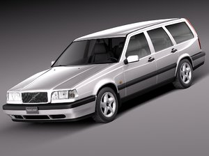 3d model wagon 1997 1991