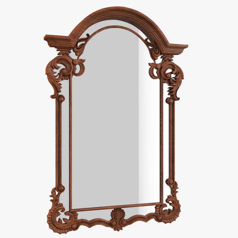 3d model mirror patterns