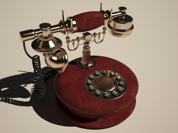 vintage phone 3ds free