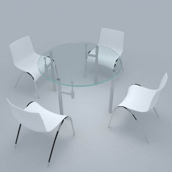 max stainless steel dining tables