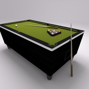 pool table 3ds