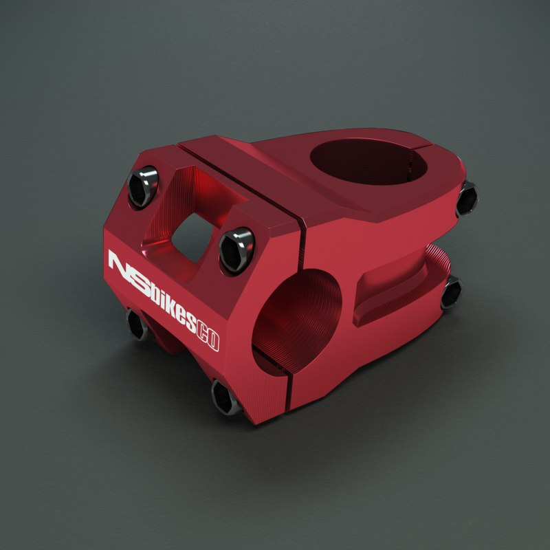 3d model of ns bikes quark pro